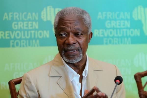 Ghana : Kofi Annan prône le partage du pouvoir