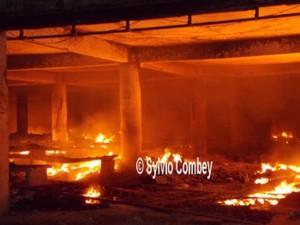 Incendie au grand marché de Lomé