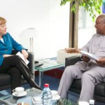 Merkel and Mahama
