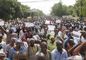 Mali Manifestations travailleurs
