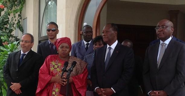 Zuma et Ouattara