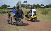 Le Kenya a son scooter à énergie solaire